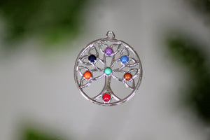 Tree of Life Pendant - Gemstones&Co