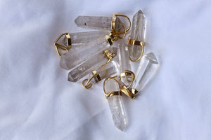 Rutliated Quartz Necklace - Gemstones&Co