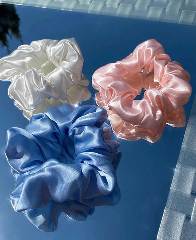 Bundles - Mulberry Silk Scrunchy Packs