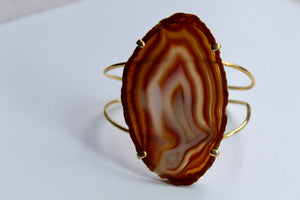 Carnelian Bangle - Gemstones&Co