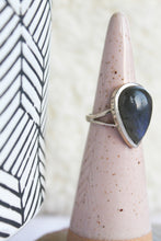 Load image into Gallery viewer, Labradorite Teardrop Ring - Gemstones&Co
