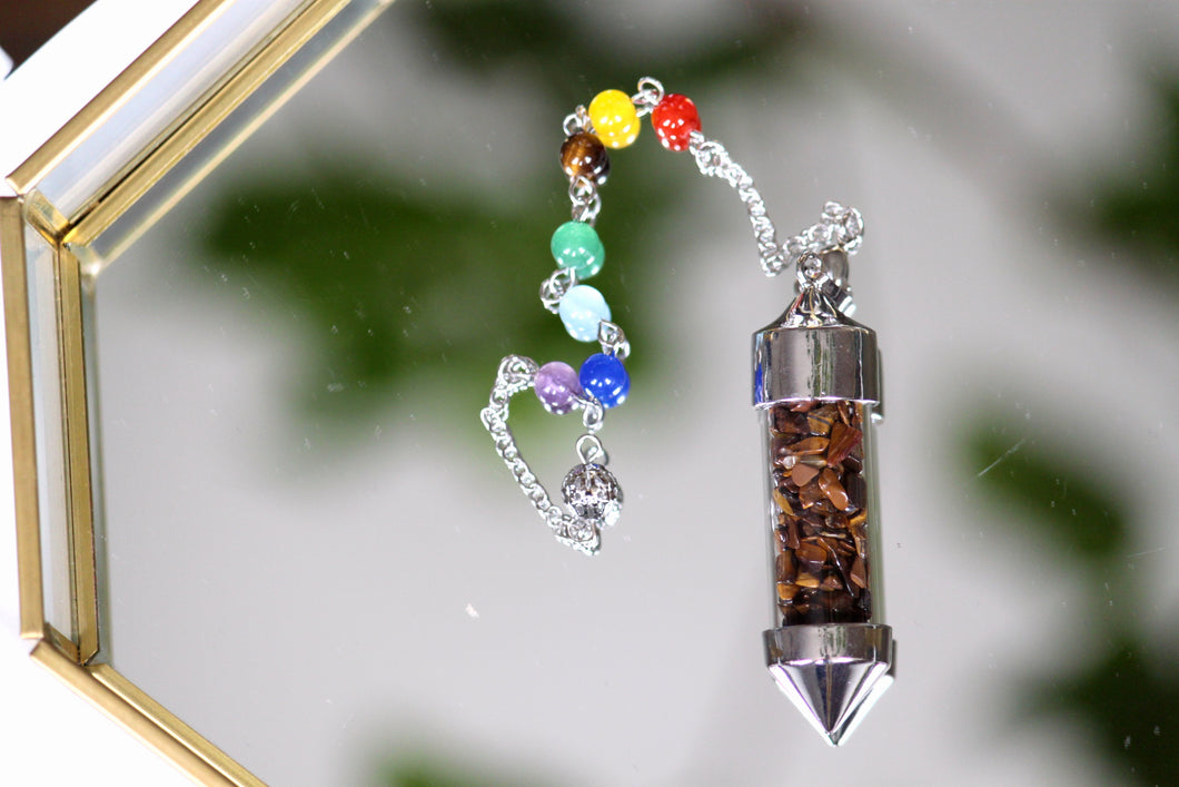 Tiger's Eye Pendulum - Gemstones&Co