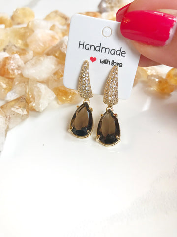 Shimmer & Glam Earrings - Gemstones&Co