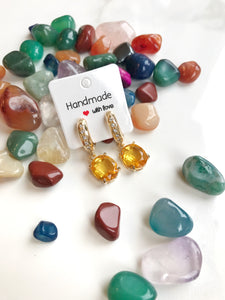Citrine Earrings - Gemstones&Co