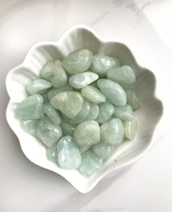 Aquamarine Tumbled Stones - Gemstones&Co