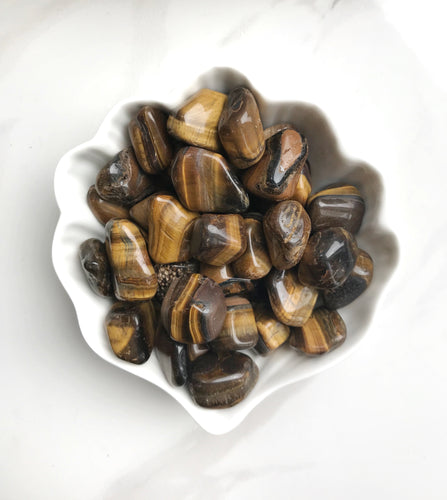 Tiger's Eye Tumbled Stones - Gemstones&Co