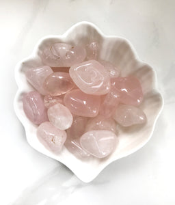 Rose Quartz Tumbled Stones - Gemstones&Co