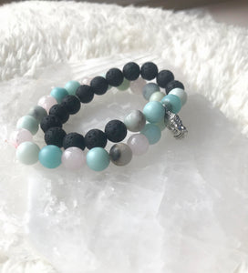 Soothing Bracelet Stack - Gemstones&Co