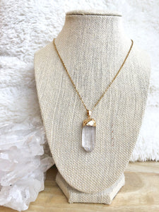 Quartz Pendant - Gemstones&Co