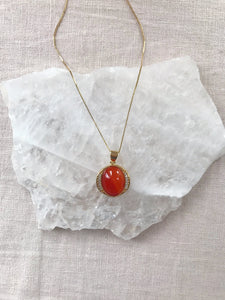 Fire Me Necklace - Gemstones&Co