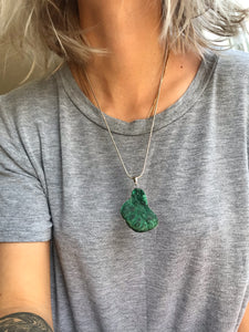 Malachite Pendant - Gemstones&Co
