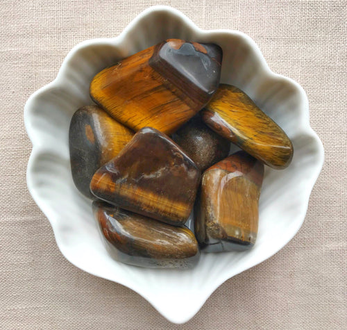 Large Tumbled Tiger's Eye - Gemstones&Co