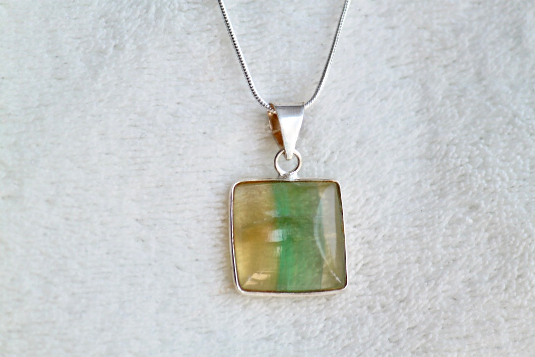 Fluorite Necklace - Gemstones&Co