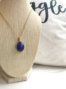 Blue Lagoon Necklace - Gemstones&Co