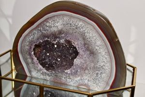 Polished Agate Geode - Gemstones&Co