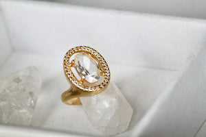 Quartz Ring - Gemstones&Co