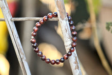 Load image into Gallery viewer, Red Tiger's Eye Bracelet