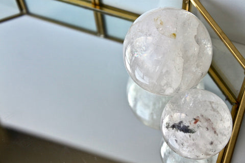Crystal Quartz Ball - Gemstones&Co