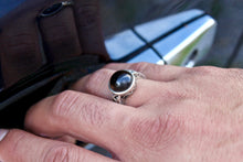 Load image into Gallery viewer, Men's Smokey Quartz Ring - Gemstones&Co