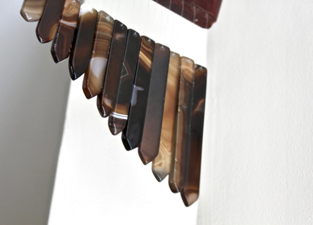 Agate Wind Chimes - Gemstones&Co