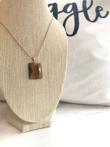Tiger's Eye Necklace - Gemstones&Co