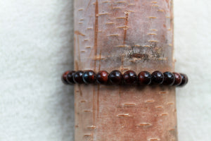 Red Tiger's Eye Stackable - Gemstones&Co