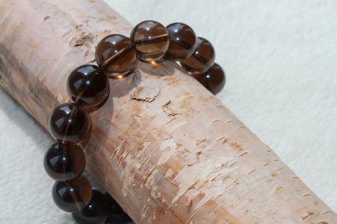 Men's Smokey Quartz Bracelet - Gemstones&Co