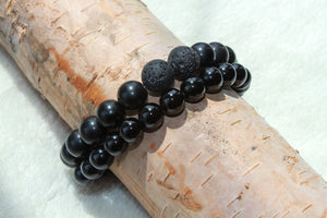Mens Aroma Stackable - Gemstones&Co