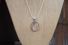 Load image into Gallery viewer, Tourmalinated Quartz Necklace