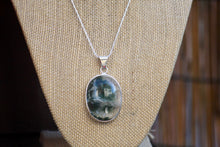 Load image into Gallery viewer, Moss Agate Necklace