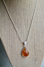 Load image into Gallery viewer, Citrine Drop Necklace - Gemstones&Co