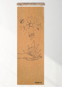 UNIVERSE CORK YOGA MAT (4.5MM) *LIMITED EDITION* - Gemstones&Co