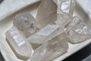 Raw Crystal Quartz Clusters - Gemstones&Co