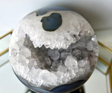 Load image into Gallery viewer, Geode Sphere - Gemstones&Co