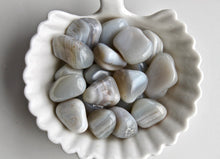 Load image into Gallery viewer, Blue Lace Agate Tumbled Stone - Gemstones&Co