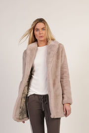 Soltice Faux Fur Coat