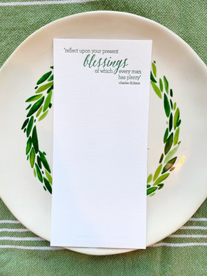Blessings Table Cards
