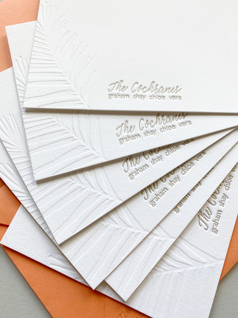 Fern Stationery