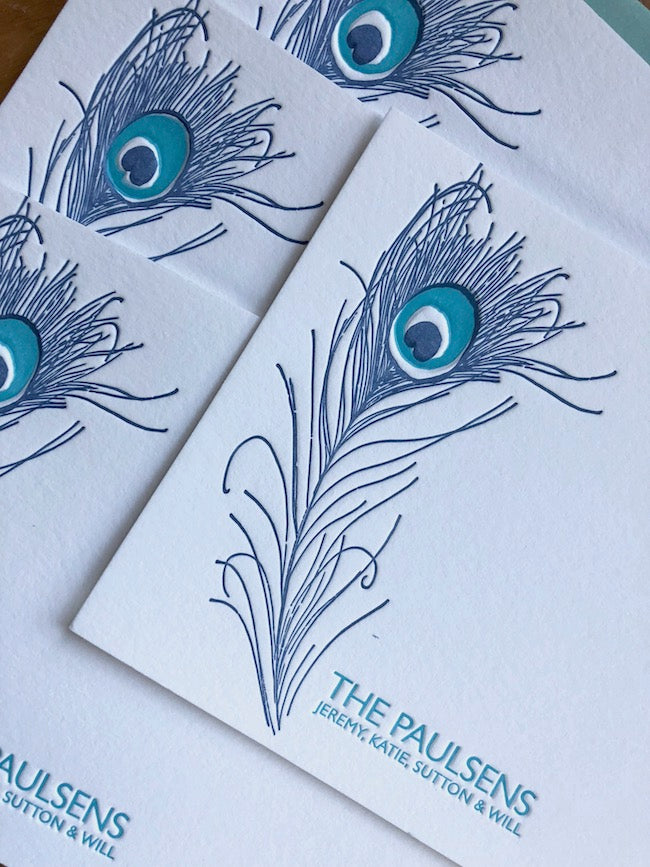 Peacock Stationery