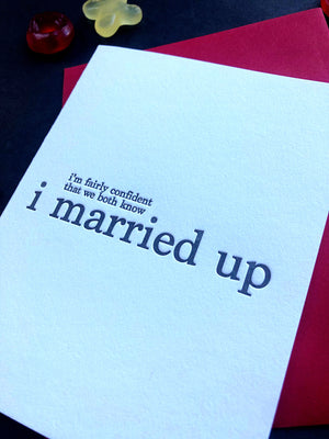 Married up