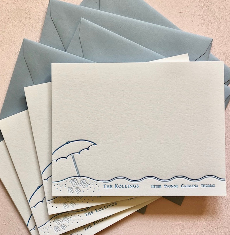 Beach Vibes Stationery