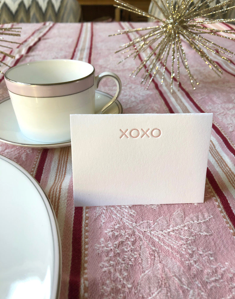 xoxo Place Cards