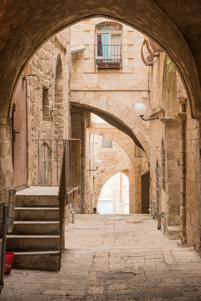'Jerusalem Street Arches' by Aaron Brethorst
