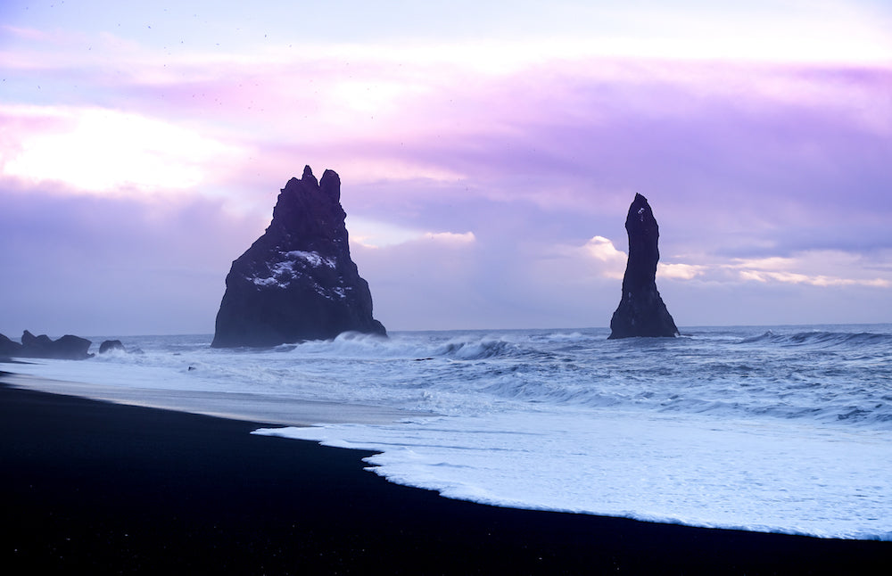 'Winter Beach, Reynisfjara, Iceland' by Bob Tompkins