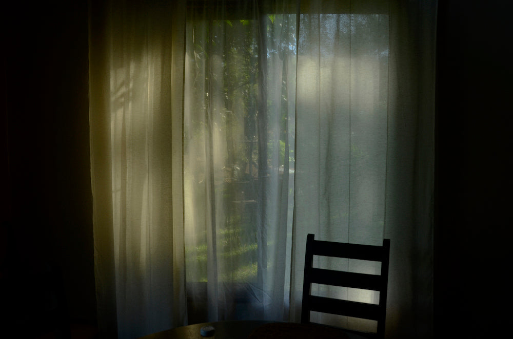'Curtains from a home I loved' by Emiliano Zúñiga Hernández
