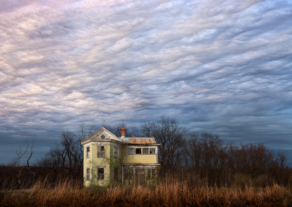 'Abandoned Yellow House, Virginia' by Joseph Romeo