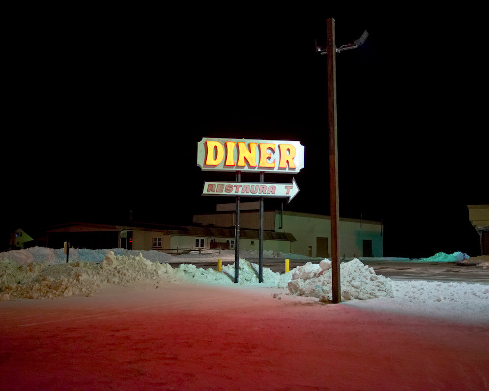 'DINER - RT.70 - 10718 1120pm' by Ronald Waite