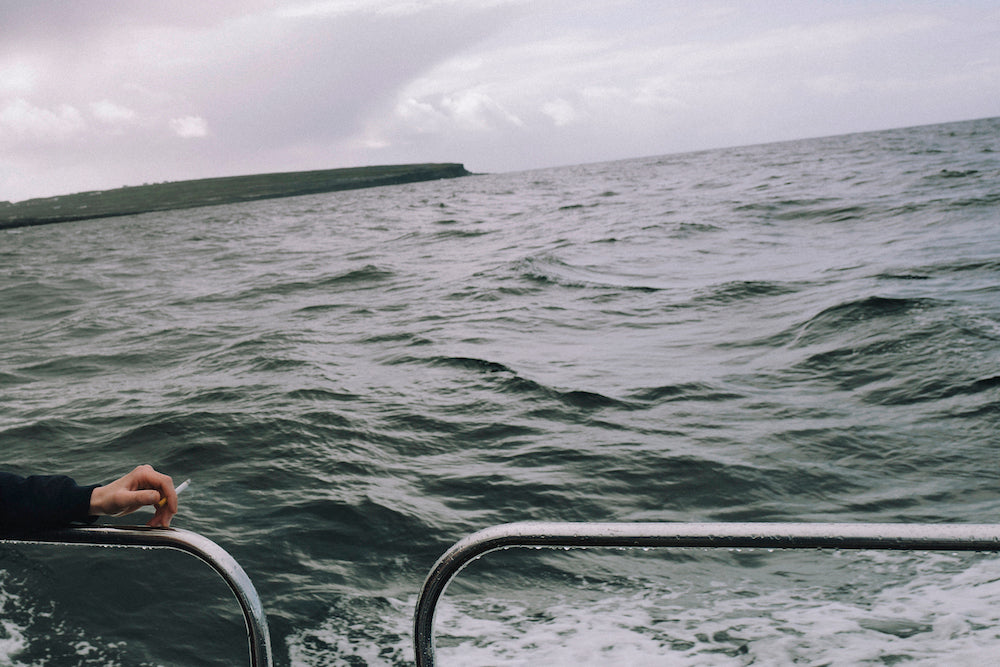 'Aran Islands, Ireland. Ferry between Aran Islands, 2018.' by Thomas Hyde