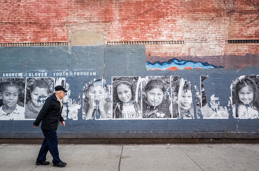 'Old + young | Harlem NYC' by Jennifer Tonetti Spellman