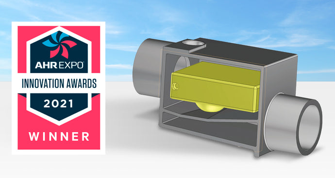 PLP-Series Wins AHR Expo Innovation Award 2021 for Indoor Air Quality Category